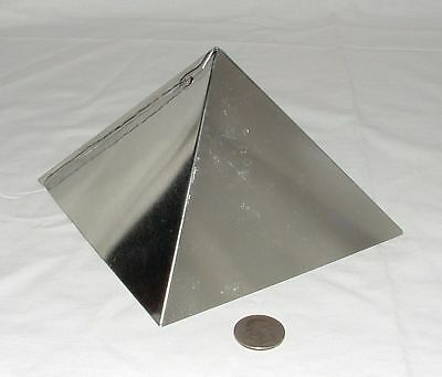 ORGONE SUPPLIES 6 Inch Giza Pyramid Mold Wholesale Lot of 10 Resin Casting