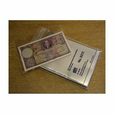 50 Safe Archival Wallets For Storage Of Banknotes.