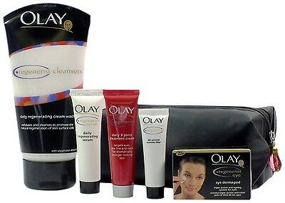 Olay Regenerist 5 Piece Gift Set with 3 Point Treatment