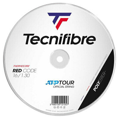 Tecnifibre Pro Red Code 1.30mm 16 Tennis Strings 200M Reel