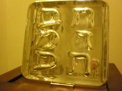 Nambe Seder Plate New In Box Gorgeous!!