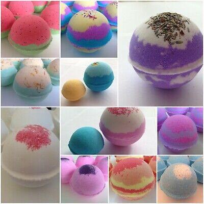 12 x Extra Large Assorted Bath Bombs 220-250g. Amazing Gifts