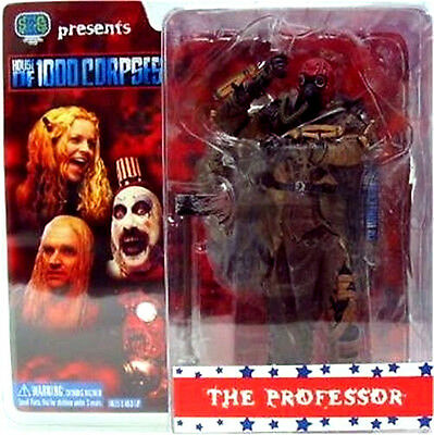 HOUSE OF 1000 CORPSES  THE PROFESSOR figura PVC de SEG