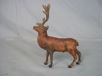 Austrian Cold Painted Bronze Stag c1900