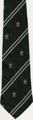 Felinfoel Wales Rugby Tie With Coa Bill Clement