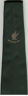 Seychelles R.f.c Rugby Tie With Coa Bill Clement