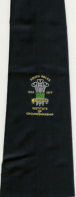 South Wales Institute Of Groundsmanship Rugby Tie