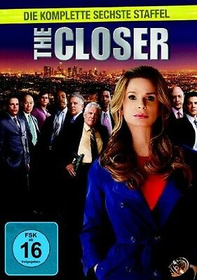 3 DVD Box * The Closer - Season/Staffel 6 * NEU OVP