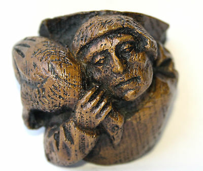 Hart Reproduction Church Carving Unique Ornament English Heritage Collectable UK