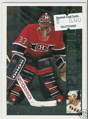 1995 Topps Profiles Patrick Roy CANADIENS AVALANCHE