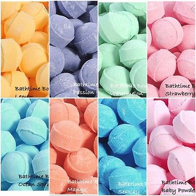 10 Assorted Chill Pills/Mini Marble Bath Bombs. Wedding Favour/Birthday Gifts
