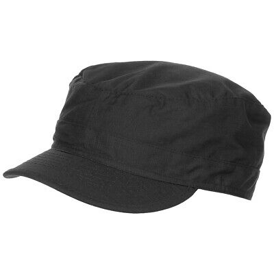 Tactical Bdu Rip Stop Cotton Field Baseball Cap Security Guard Hat Black S-Xxl