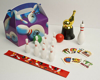 Birthday Bowling Party FAVORS Pack for kids-FUN-in BOX