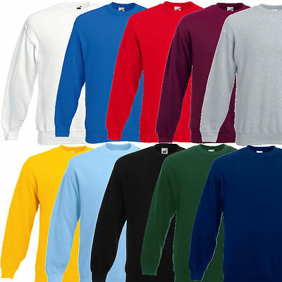 Fruit of the Loom Herren Sweatshirt Pullover 280g Sweat S M L XL XXL 3XL