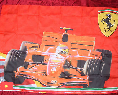 Ferrari Flag Large Formula 1 F1 Racing Car Authentic Brand New In Pack