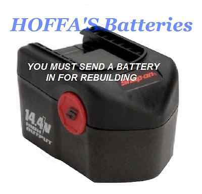 We Rebuild All SNAP ON CTB4147 14.4 Volt BATTERIES