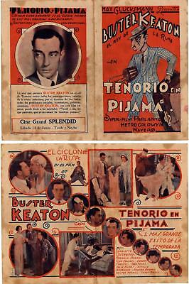 PARLOR,BEDROON AND BATH,Buster Keaton, Herald,1931