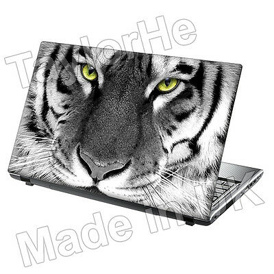 "15.6"" Laptop Skin Cover Sticker Decal tiger face 181"