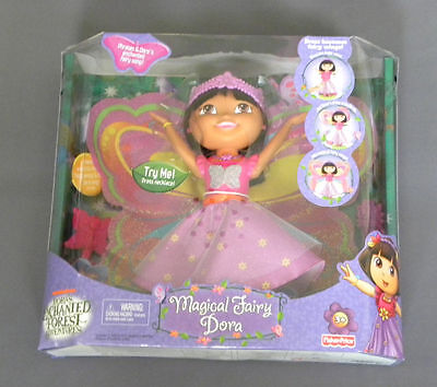 Enchanted Forest Adventures Magical Fairy Dora Doll NEW