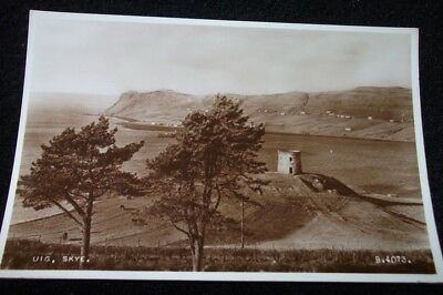 Old Postcard Of Uig, Skye