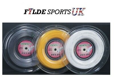 PRO'S SYNTHETIC GUT 1.30MM 200M Tennis String Reel £22