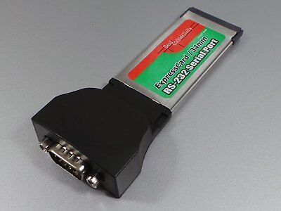Express Card 1-Port seriell 9pol. (RS-232)        #g445