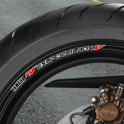 Yzf R1 Exup Deltabox V  Wheel Rim Stickers Decal