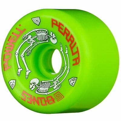 Powell Peralta G BONES Skateboard Wheels 64mm 97a GREEN