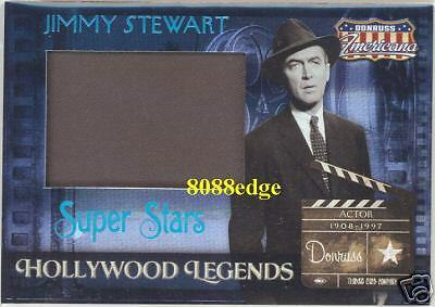 "2007 Americana Jumbo Worn Swatch: James""jimmy""stewart #1/25 Vertigo/rear Window"