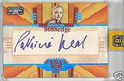 2008 Celebrity Cuts Auto: Patricia Neal #7/25 Autograph Broadway Tony Award