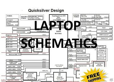 Laptop Motherboards Schematics 5000+ PDF's To Pick From