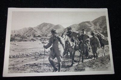 Old Postcard Of The War In Morocco