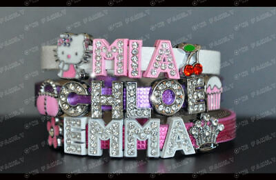 Personalised Charm Bracelet Hellokitty Bettyboop in Bag