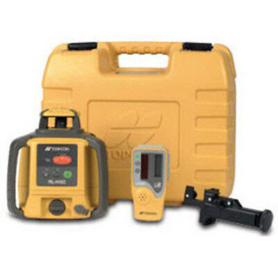 New Topcon RL-H4C Rotating Laser Level - RB Rechargeable Battery Package
