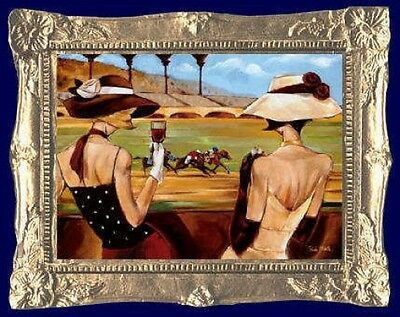 MADE IN AMERICA Art Deco Fashion Dollhouse Miniature Picture FAST DELIVERY