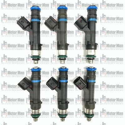 Set of 6 Bosch 0280158020 Injector 06-10 Jeep Grand Cherokee 3.7L V6 53032701AA