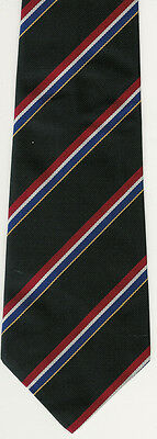 Black Rugby Tie Bill Clement Bc6-125