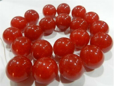 """18mm Natural Red Ruby Round Loose Beads Gemstone 15"""""""