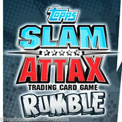 Topps WWE Slam Attax Rumble Title Cards - You Choose which one(s) - FREE P&P