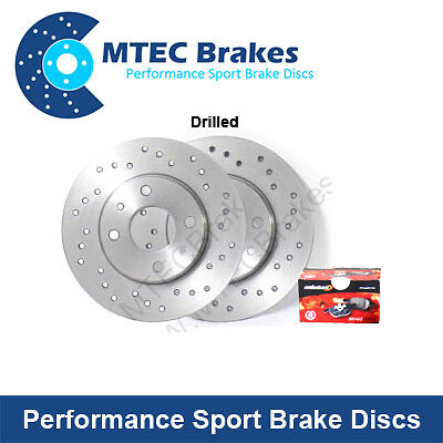 Mercedes Coupe CL600 C215 00-07 Rear Brake Discs+Pads