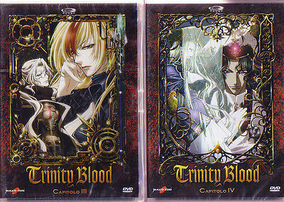 DVD ANIME/MANGA-TRINITY BLOOD 3,4  vampiri,vampire hunter d,horror,chrno crusade