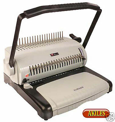 "Akiles EcoBind-C Comb Binding Machine & Punch 12"" ( New )"
