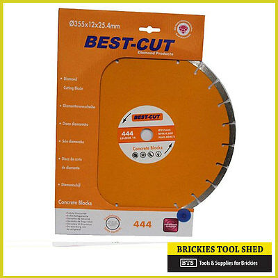 14in 350mm DIAMOND CONCRETE BLOCKS, BRICK SAW BLADE
