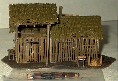 Model Power Ho Scale Old Storage Shed Building