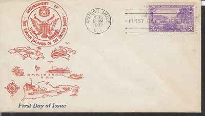 802-22A Scatchard Possession-Virgin Island Issue
