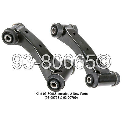 Pair Brand New Left & Right Front Upper Control Arm Kit For Infiniti G20