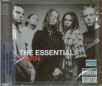 Korn The Essential Sealed 2 Cd Set New 2011 Greatest Hits Best