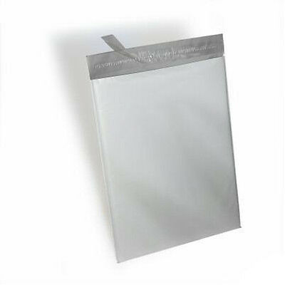 250  -19x24 White Poly Mailers Shipping Envelopes Bags 2.5 Mil 100 % Recyclable