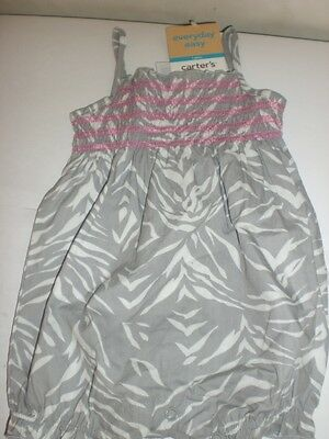 CARTERS PLAYWEAR ONE PIECE STRIPES WITH DEEP SEA PATCH 6 MONTH NEW WITH TAGS