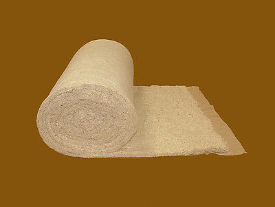 "WHITE COTTON FELT UPHOLSTERY FILLING 2.5OZ 27/"" WIDE 5 METERS UPHOLSTERY SUPPLIES"